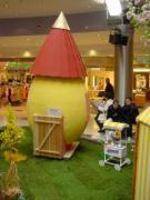 Eierhaus mit Dach