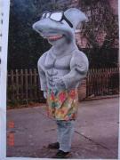 Schaukostüm Hai - Sonderanfertigung