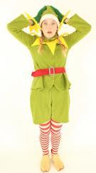 Elf- Weihnachtself - Kostüm - Elfenkostüm