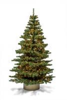 Baum Exclusive 180 mit Beleuchtung und Kugeln