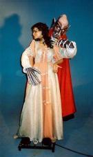 Dracula mit weiblichem Opfer