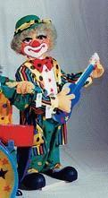 Clown mit Gitarre