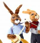 Hare duo violinist and Banjo player