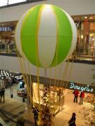 Fesselballon 250 cm  mit Bärenbesatzung