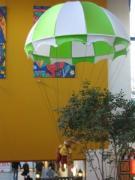 Hase  am Fallschirm 250 cm