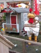 Emanzipation der Hühner-Opfer der Emanzipation-unbewegliche Figuren