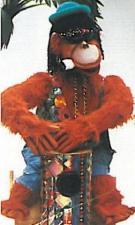 Affe mit Trommel - Bandfigur