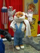 Boxbude - Kirmesbude mit Tierfiguren