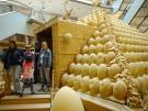 Eier - Pyramide 8,5 x 8,5 x 5 Meter mit Durchgang