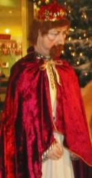 König-Kaspar-Krippenfigur