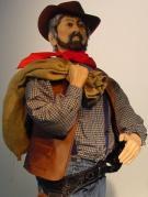 Cowboy trägt Sack 2