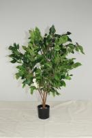 Diese Kunstpflanze ist 100-110 cm hoch.
