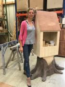 Baumhaus für Tannenbäumler mit 2 Figuren
