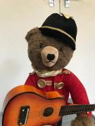Teddy Bear with Guitar