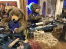 Die Holzwerkstatt der Teddy Bären
