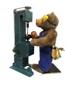 Teddy Bear with drill press