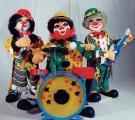 Clown mit Schlagzeug