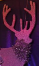 Hirsch 380 cm in 2D-Optik Vegas-SerieChristmasworld Collection 2011