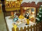 Bäckerei-Teigherstellung mit Tierfiguren