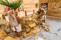 Eigypten - Steinbruch - 2 Hasenfiguren