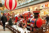 Christmas Train - Lokomotive 260 cm lang
