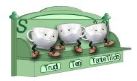Teecups  Swinging tee cups with voice and sound