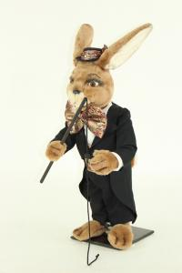 Hare's artiste Domteur with whip