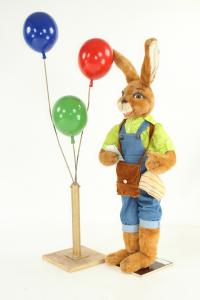 Hare- aerial balloon shop assistant