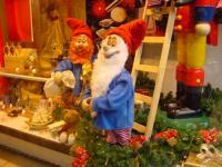 Wichtel - Wichtel knacken Nüsse mit Nussknacker - 3 Figuren
