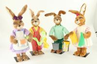 Hare- easter eggs colour