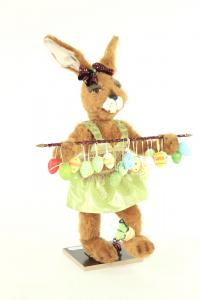Hare- woman with many pointed easter eggs
