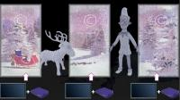 Animation - Movie 3 x SD card - elves in the snow - Christmas in a Box Accessories