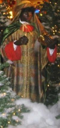King Balthasar Nativity