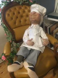 Dornröschen- der Koch schlafend