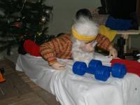 Pushup Santa Claus