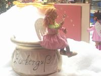 Angel on sugar pot