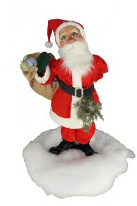 Santa Claus shoulders gift bag