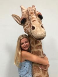 Giraffenhals für Dschungel oder Savannendekoration