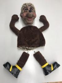 Hedgehog conversion set for standing standard figures 75 cm