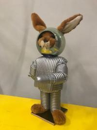 Modern Life Hasen mit Roboter Hase