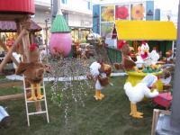 Emanzipation der Hühner - Dekobauten