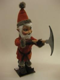 Bergwerks Elf mit Spitzhacke  Christmasworld Collection 2011