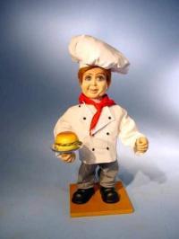 Hamburger Verkäufer