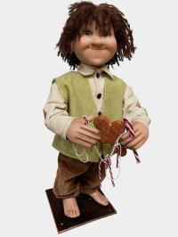 Hansel from the fairy tale Hansel and Gretel
