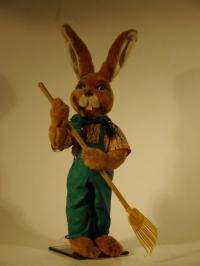 Rabbit with rake