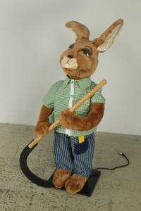 Rabbit with scythe