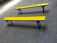 Sitzbank gelb