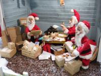 Weihnachtsmanufaktur- Poststation