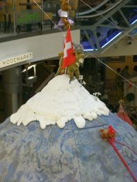 Eiger-Nordwand-Kulisse 500 cm Ei in Felsoptik