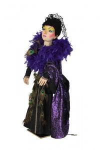 Böse Fee aus Märchen Rapunzel